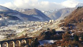 Garfagnana in winter