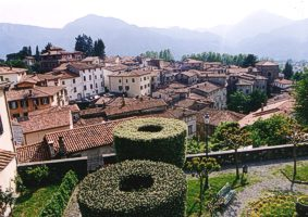 Barga view from the church