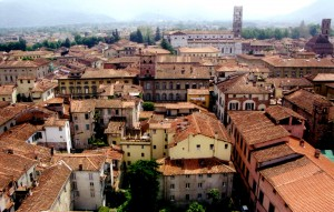 lucca rooftops from tower 2