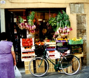 vegetable shop lucca